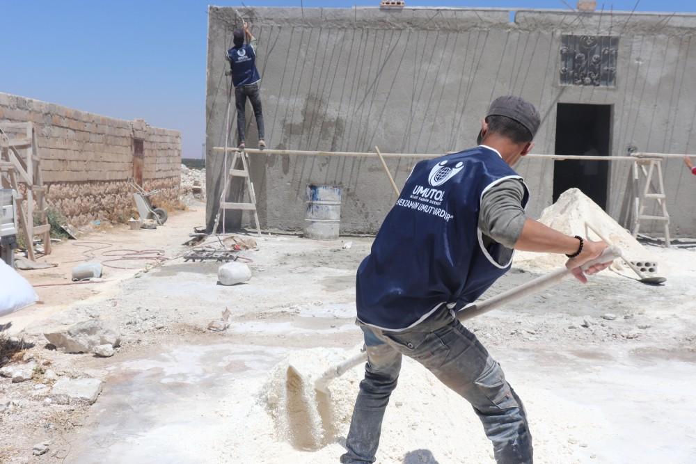 Umut Ol İnsani Yardım Derneği Suriye'de yeni bir proje başlattı